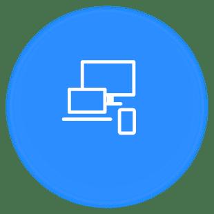 Diseño Web, computadoras, mac, logo, celular, tablet, macbook