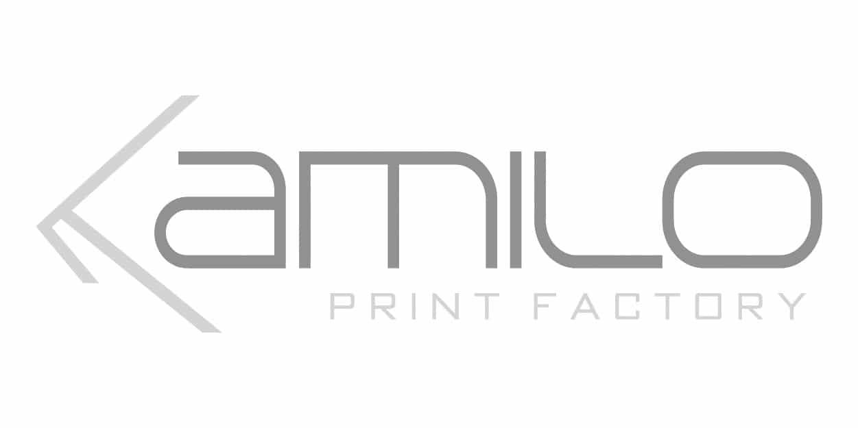 Kamilo Print Factory, Logo, Webcion